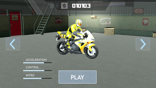 SUPER BIKE RACERS 3D screenshot 2
