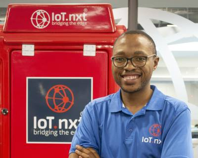 Richmond Nkambule, Business Development Manager at IoT.nxt