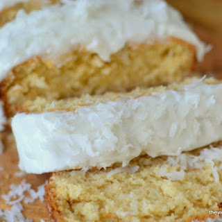 Triple Coconut Pound Cake