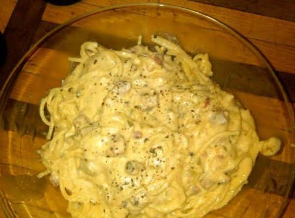 La Vonne's Spaghetti Carbonare Recipe
