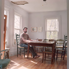 Photo: title: Nat May, South Portland, Maine date: 2010 relationship: friends, art, business (art), met through art world Portland years known: 10-15