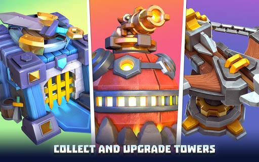 Wild Sky TD: Tower Defense Legends in Sky Kingdom screenshots 7