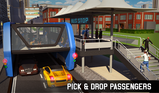 Elevated Bus Simulator: Futuristic City Bus Games 2.2 screenshots 19