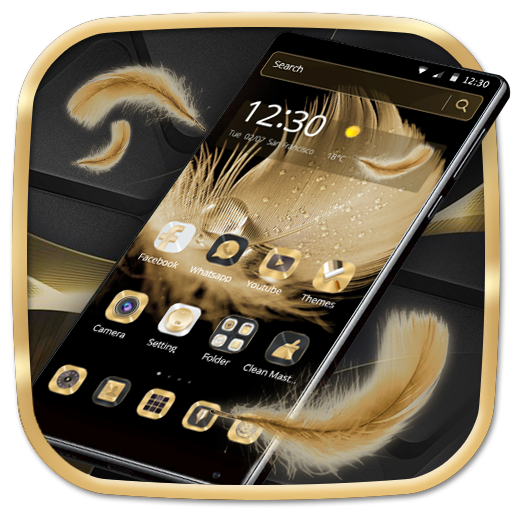 Golden Feather Theme