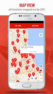 Find Truck Service & Stops- screenshot thumbnail