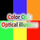 Color Quiz - Optical illusions
