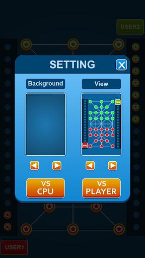 Bead 16 - Tiger Trap ( sholo guti ) Board Game ud83eudde0 1.05 screenshots 15