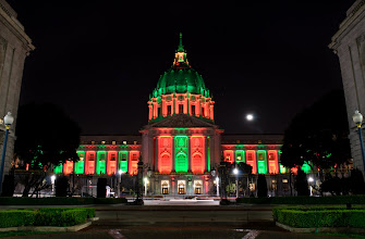 Photo: Ho Ho Hum San Francisco, CA. 2011.  You better watch out You better not cry Better not pout I'm telling you why Santa Claus is coming to town  Round #1 of the match between me, and +Chrysta Rae on Nightscapes. Sit back, enjoy, this is just the feeling out round. (You didn't think we would put up the best stuff first?) ..  #PhotographyDeathMatch (Curated by +Samir Osman and +Tamara Pruessner) #PhotographyDeathMatch_CRvsRL <-- Click to follow our match