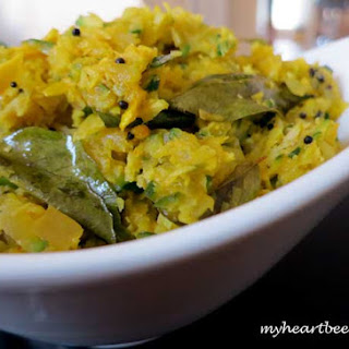 Zucchini Stir-Fry with Curry Leaves.