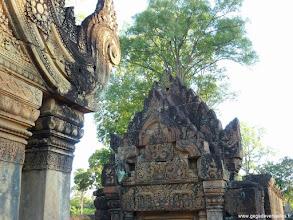 Photo: #005-Le temple hindouiste de Banteay Srei