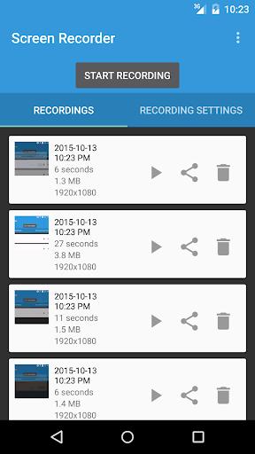 Lollipop Screen Recorder 2.1.3 screenshots n 2