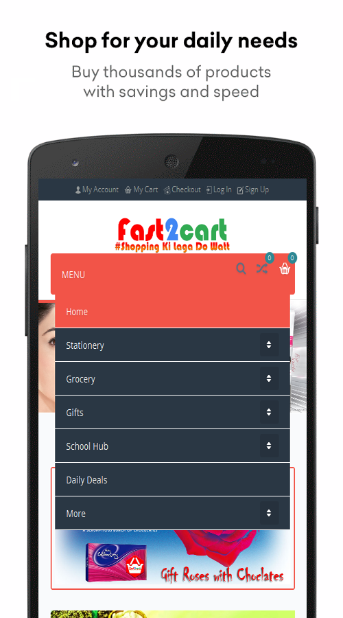 Fast2cart Online Supermarket- screenshot