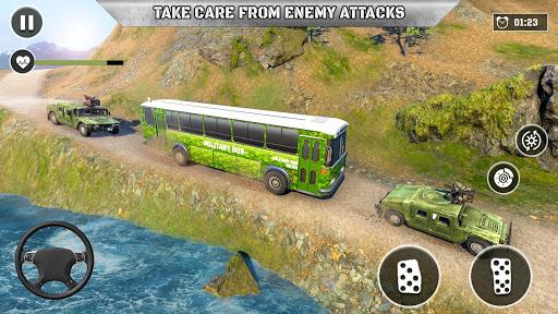 Army Prisoner Transport: Criminal Transport Games apkmind screenshots 4