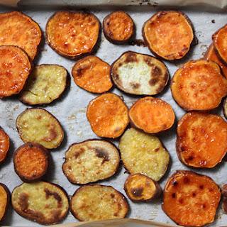 Roasted Sweet Potato Coins.