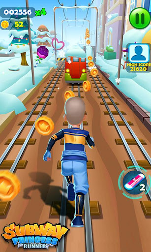 Subway Princess Runner  captures d'écran 4