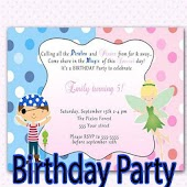 Birthday Party Invitation Designs