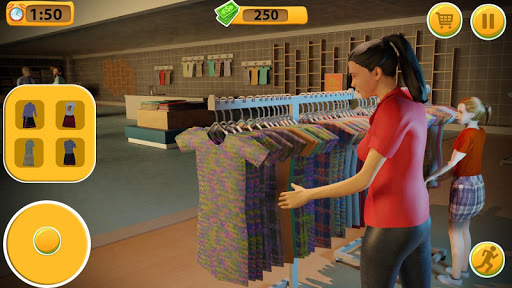 Virtual Mother Supermarket - Shopping Mall Games  screenshots 2