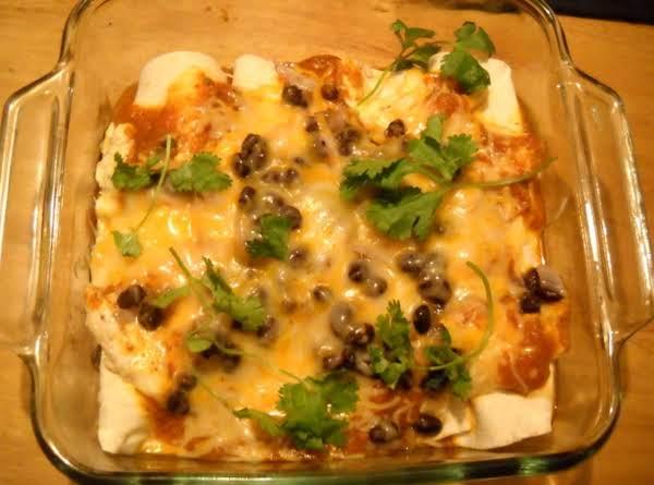 Baked Chicken Enchiladas Recipe