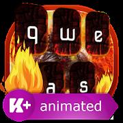 Fire Animated Keyboard Theme