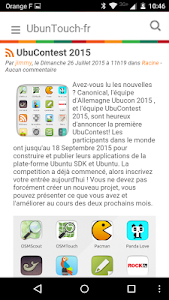 UbunTouch screenshot 1