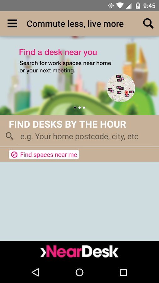 NearDesk - flexible working- screenshot