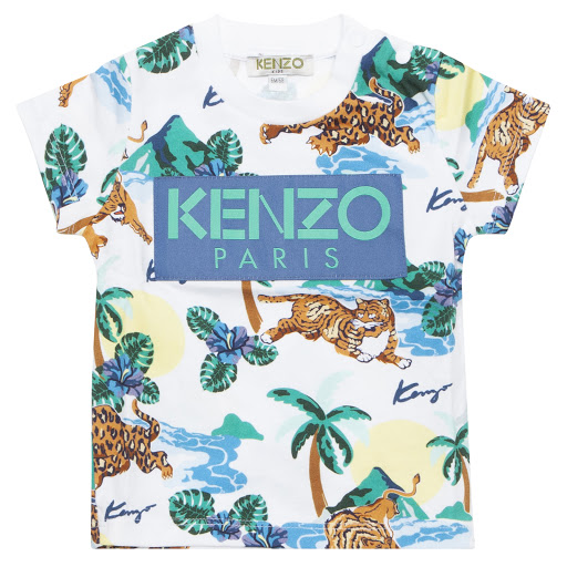 Primary image of Kenzo Farley Jungle T-shirt