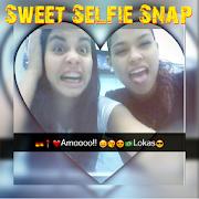 Sweet Snap Selfie Emoji Editor de Foto e Desfoques