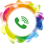 Call Show: beautiful call theme & LED reminder Icon
