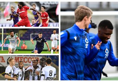 """Debat van de week: """"Enkel Antwerp kan Club Brugge van titel afhouden"""" - wie is uw favoriet op de titel? (En uw mening over het stopzetten van de competitie!)"""