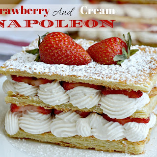 Strawberry and Cream Napoleon