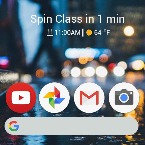 Launcher Theme for Google Pixel 2