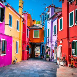 Burano. by Darijan Mihajlovic - City,  Street & Park  Historic Districts (  )