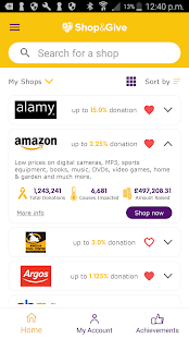 Shop&Give- screenshot thumbnail