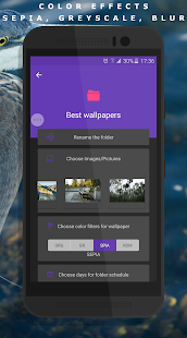 Auto Wallpaper Changer (CLARO Pro) Screenshot