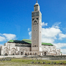 Hassan II Mosque by Richard Michael Lingo - Buildings & Architecture Places of Worship