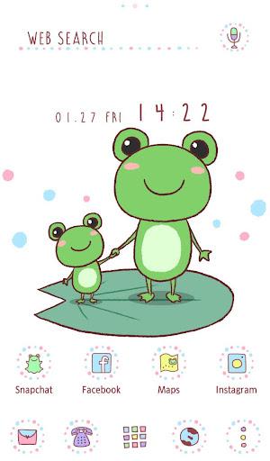 Cute Wallpaper  Friendly Frogs 1.0.0 Windows u7528 1