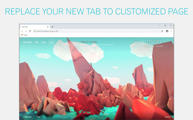 Low Poly Wallpaper HD Low Poly New Tab