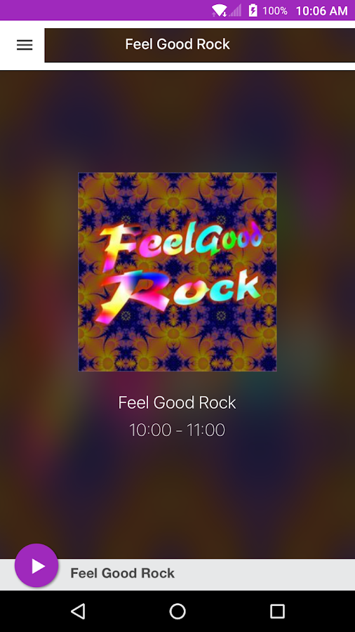 Feel Good Rock- screenshot