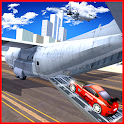 Airplane City Car Transporter icon