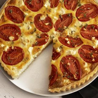 Tomato, Feta and Thyme Tart