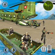 US Army Helicopter Rescue: Ambulance Driving Games
