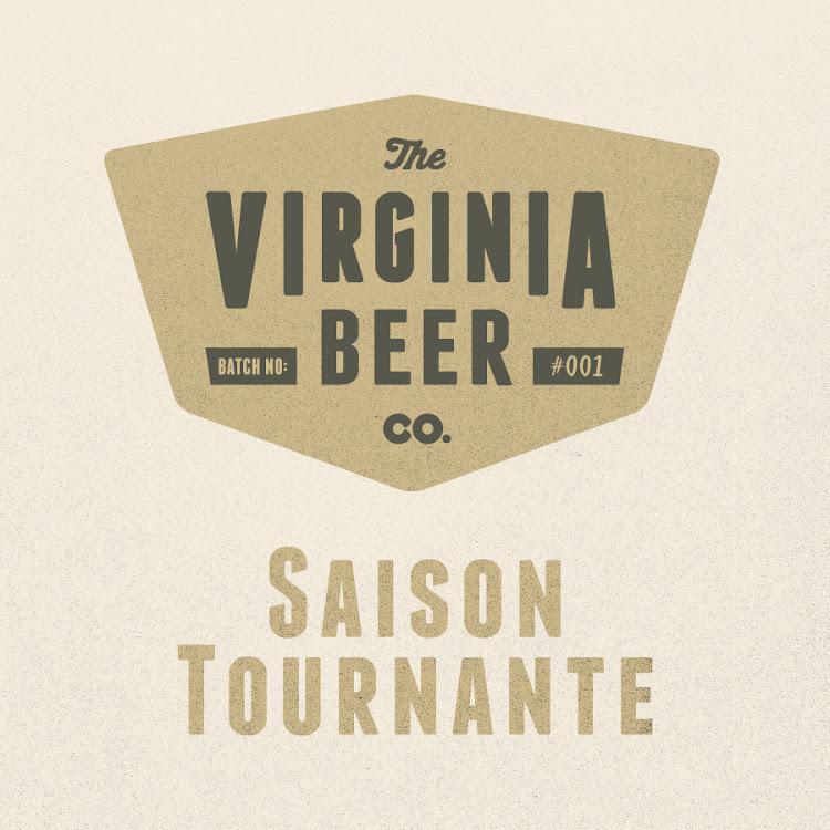 Logo of Virginia Beer Co. Saison Tournante - Lemongrass + Citra