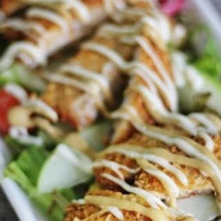 Pork Schnitzel And Apple Salad