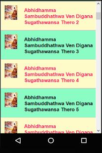 Buddhism - Abhidhamma Sambuddhathwa - náhled
