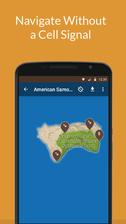 American Samoa NP by Chimani- screenshot