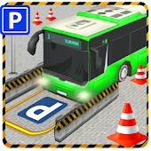 City Bus Parking 3D Simulator