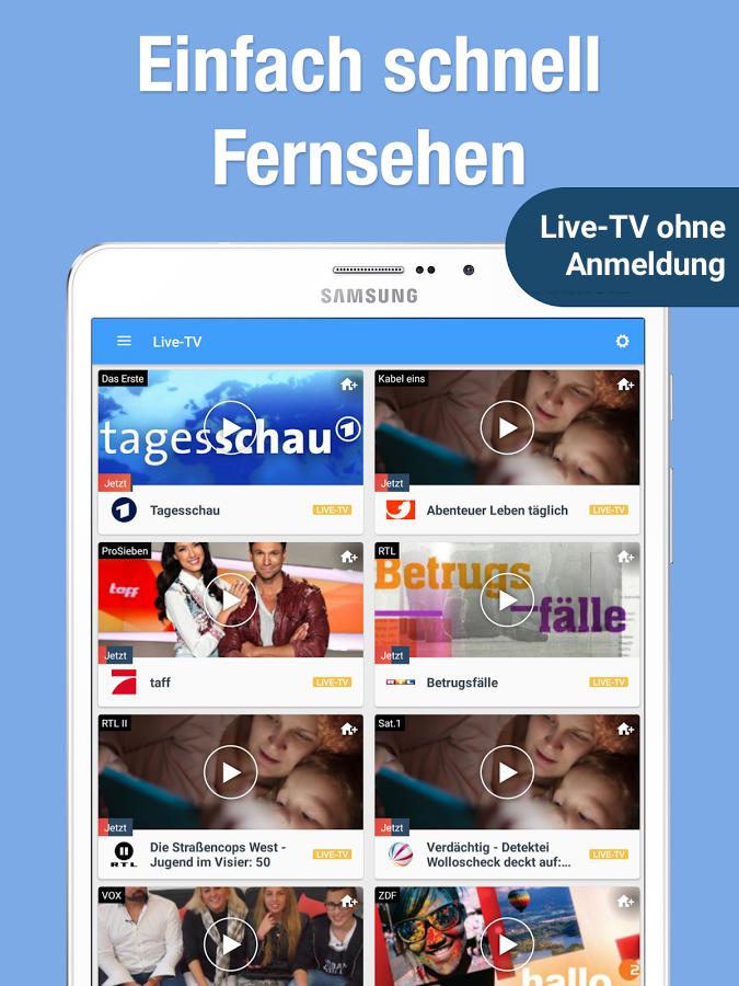 online tv kostenlos ohne anmeldung