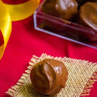 Coconut Chocolate Truffles.
