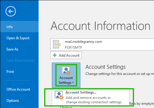 How to fix Outlook data file cannot be accessed error in Windows 10