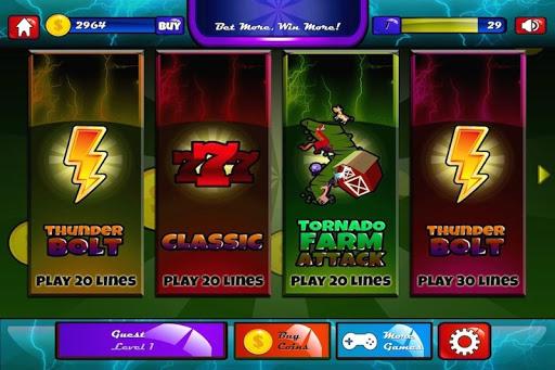 Thunderbolt Casino Slots Free